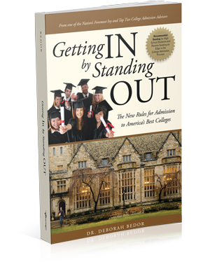 Getting In By Standing Out Book